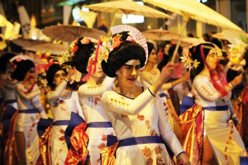 Los Trapisondas, primer premio del Carnaval de La Roda 2018