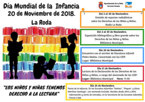 Jornadas del Día Mundial de la Infancia 2018 en La Roda