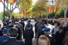 Éxito de asistencia y participación en la Jura de Bandera civil celebrada en La Roda