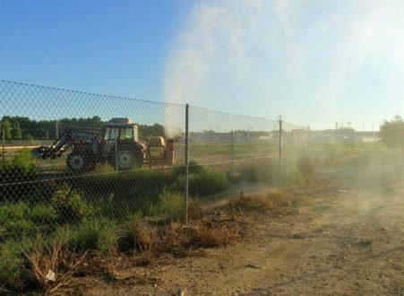 El Ayuntamiento ejecuta su tratamiento preventivo de larvas y mosquitos