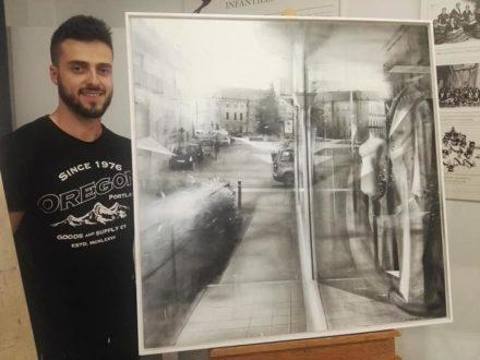 Richard García gana el V Concurso de Pintura Rápida «Fundación Antonio Carrilero»