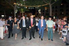 La Roda dio la bienvenida a sus fiestas mayores con un gran desfile inaugural