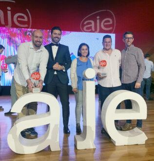 Los Premios AJE 2019 reconocen la labor de dos empresas rodenses