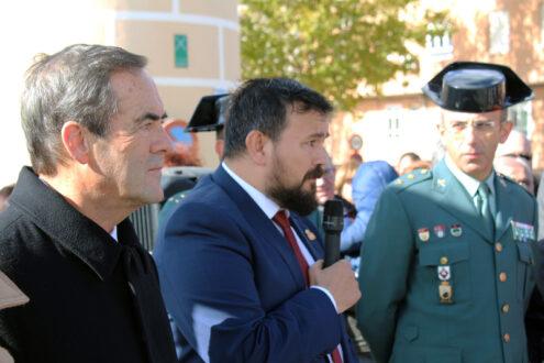 La Roda rinde homenaje a la Guardia Civil en su 175 aniversario