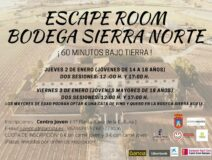 Escape Room en la bodega Sierra Norte