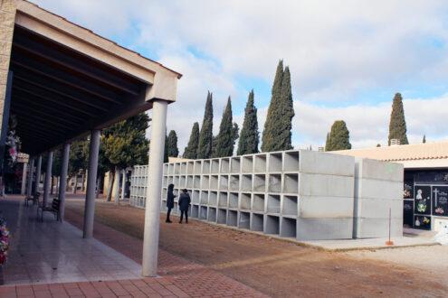 El cementerio de La Roda cuenta con 176 nichos nuevos