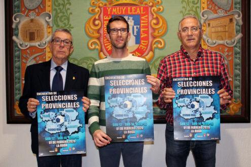 Las selecciones provinciales sub-12, sub-14 y sub-16 de CLM se  dan cita en La Roda
