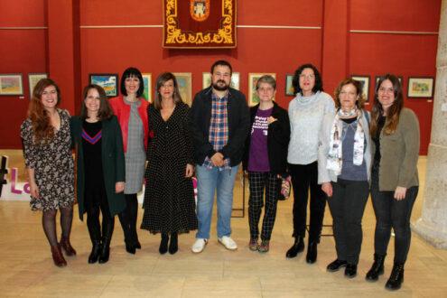 Comienza la I Semana de la Mujer con la muestra 'Mujeres, entre pinturas y esculturas'