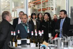 Juan Ramón Amores recibe al presidente de las Cortes de Castilla-La Mancha, Pablo Bellido