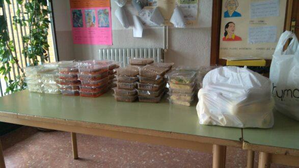 20 niños rodenses continuarán estos días con la ayuda de comedor escolar