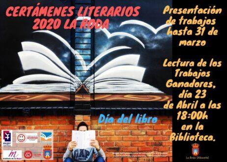El Ayuntamiento de La Roda convoca los Certámenes Literarios 2020