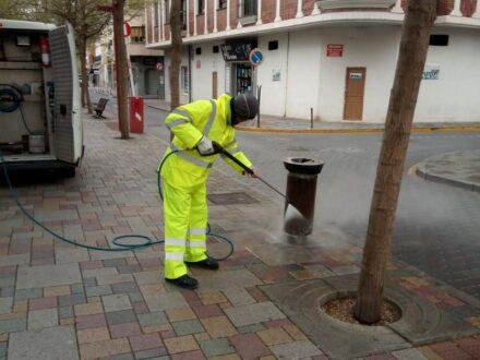 Continúan las medidas de confinamiento en los servicios municipales