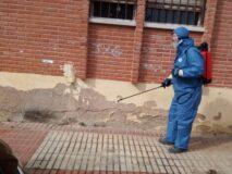 El Plan Integral de Desinfección local intensifica sus actuaciones en edificios públicos