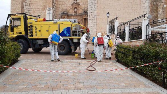La Roda intensifica el Plan Integral de Desinfección en zonas industriales