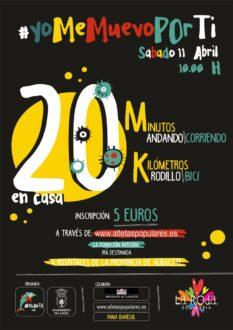 Adelante y el Ayuntamiento de La Roda presentan la iniciativa solidaria #YoMeMuevoPorTi