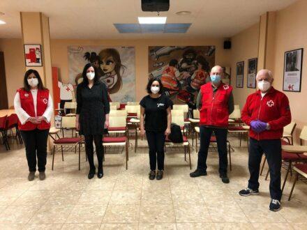 El convenio de Cruz Roja y el Ayuntamiento se empleará para adquisición de alimentos