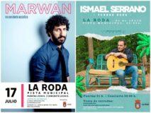 Juan Ramón Amores confirma los conciertos de Marwan e Ismael Serrano para este verano