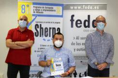 Juan Ramón Amores anima a los rodenses a participar en el programa Sherpa de FEDA