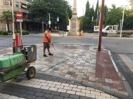 El Ayuntamiento mantiene activo el Plan Integral de Desinfección Local