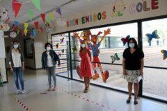 El Ayuntamiento colabora en la puesta a punto de los colegios para el inicio del nuevo curso