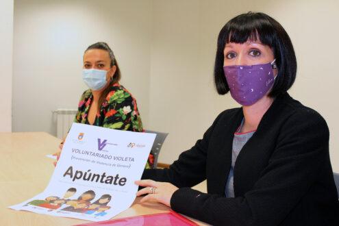 Una treintena de personas se suman al Voluntariado Violeta