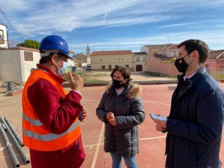 Comienzan las obras del vallado de las pistas deportivas del Parque de la Goleta