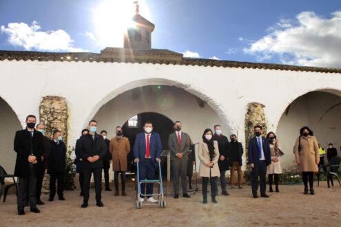 La Ministra de Política Territorial y Función Pública, Carolina Darias, visita La Roda