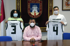 Reconocimiento institucional a los atletas rodenses Lisbeth Echevarría y Luis Toboso