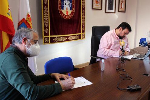 El Ayuntamiento incrementará en 3.800 euros el convenio con la Escuela de Fútbol Base de La Roda