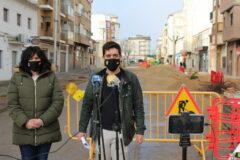 Avanzan a buen ritmo las obras de la Calle Castelar