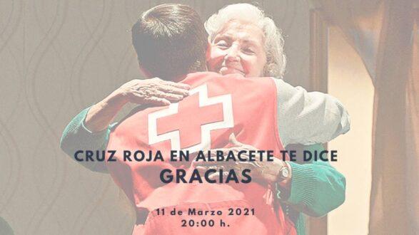 Cruz Roja en Albacete te dice 'GRACIAS' con un gran evento online