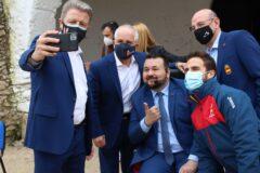 Juan Ramón Amores anuncia una convocatoria de ayudas para la formación de entrenadores