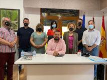 La Roda, primer Ayuntamiento en recibir a la nueva directiva de ASPRONA Plena Inclusión