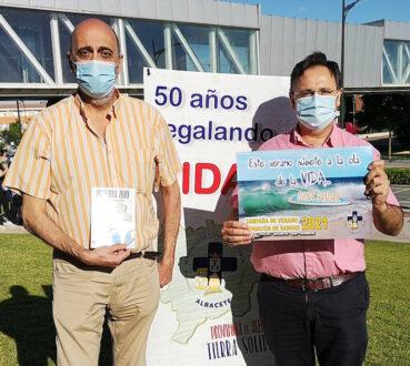 La Hermandad de Donantes de Sangre de Albacete presenta su campaña de verano