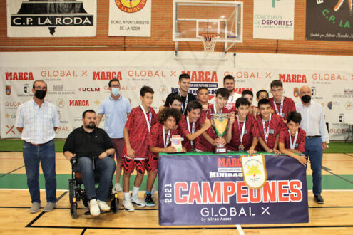Next MVP Badalona, campeón del XXIII MARCA La Roda U12 Future Stars