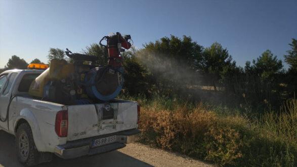 Medioambiente localiza dos focos importantes de mosquitos