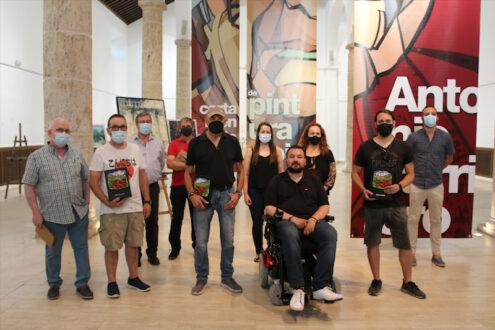 Javier Martín Aranda, primer premio del VI Concurso Nacional de Pintura Rápida Antonio Carrilero