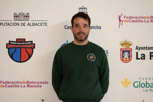 Enrique Moya renueva como segundo entrenador del Decolor Fundación Globalcaja La Roda